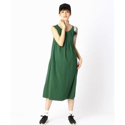 COMME CA BLANC D'OEUF/コムサブロンドオフ (マタニティ) ハッピー ドレス グリーン M〜L