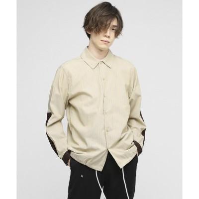 シャツ ブラウス ストライプコーチシャツ〜JAPAN MADE〜