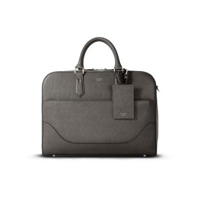 【カバンのセレクション】 ペッレモルビダ キャピターノ ブリーフケース  ビジネスバッグ メンズ 本革 A4 PELLE MORBIDA CA015 メンズ チャコール グレー フリー Bag&Luggage SELECTION