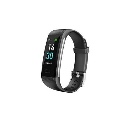 TopSolar フィットネストラッカーHR、アクティビティトラッカー腕時計、血圧心拍数モニター、歩数計、睡