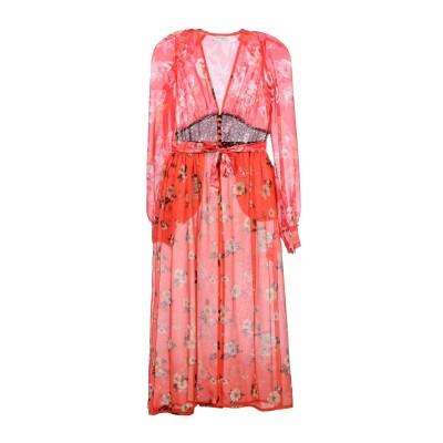 アティコ THE ATTICO ロングワンピース&ドレス フューシャ 3 100% シルク ロングワンピース&ドレス