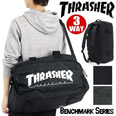 ボストン リュック THRASHER スラッシャー 3WAY 大容量 ボストンバッグ リュック メンズ レディース ブランド 旅行 送料無料 通学用 部活