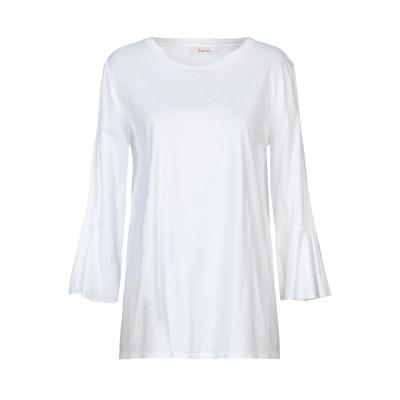 ジャッカ JUCCA T シャツ ホワイト L コットン 100% T シャツ
