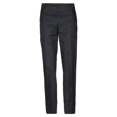 CARLO PIGNATELLI パンツ ブラック 52 アセテート 76% / バージンウール 24% パンツ