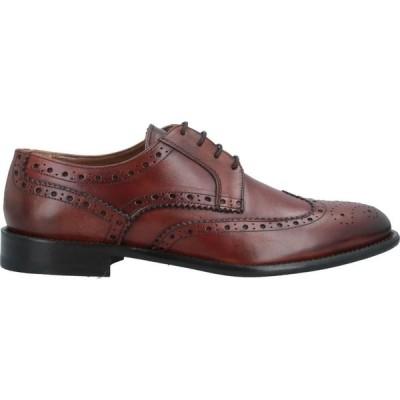 アンジェロ パロッタ ANGELO PALLOTTA メンズ 革靴・ビジネスシューズ シューズ・靴 Laced Shoes Tan