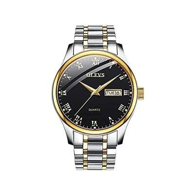 OLEVS Watch Men's Chronograph Quartz Watch Luxury Dress Watch for Men with 好評販売中
