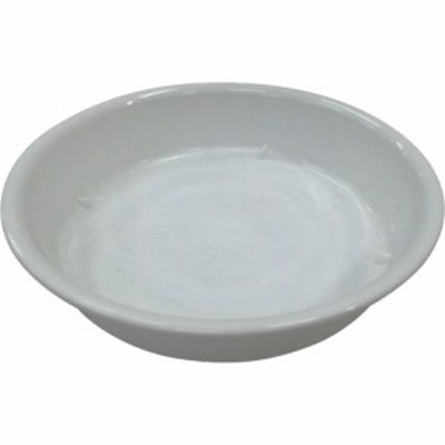 IRIS 鉢受皿中深型 ホワイト 7号 (1枚) 品番:HUMD-7-W