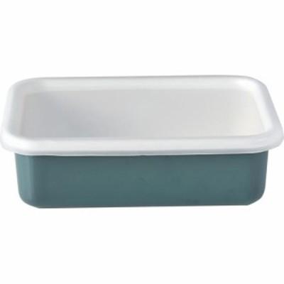 ハニーウェア 浅型角容器 M スモークブルー(1個)[保存容器]