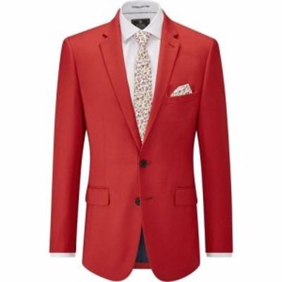 スコープス Skopes メンズ スーツ・ジャケット アウター Milo Slim Suit Jacket Red