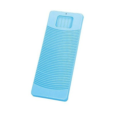 新輝合成 トンボ 洗濯板 プラスチック製 幅21×奥行52×高さ2.5cm ブルー 00809