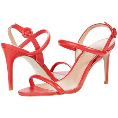 Massimo Matteo Evening Leather Sandal レディース ヒール パンプス Vermelho
