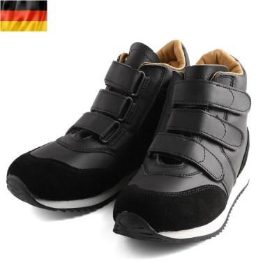 新品 西ドイツ軍 パイロットシューズ メンズ スニーカー 靴 シューズ ハイカット トレーニングシューズ ミリタリー【Zo】