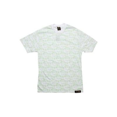 人気シューズ 海外セレクション 35 Sneaktip MF Allover Tシャツ (ホワイト / グリーン)