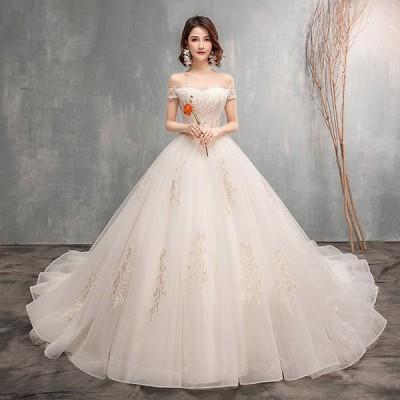 ウェディグドレス カラードレス 結婚式 花嫁 二次会 プリンセスラインドレス ドレス パーティードレス ロングドレス 海外挙式 大きいサイズ 前撮り 後撮り