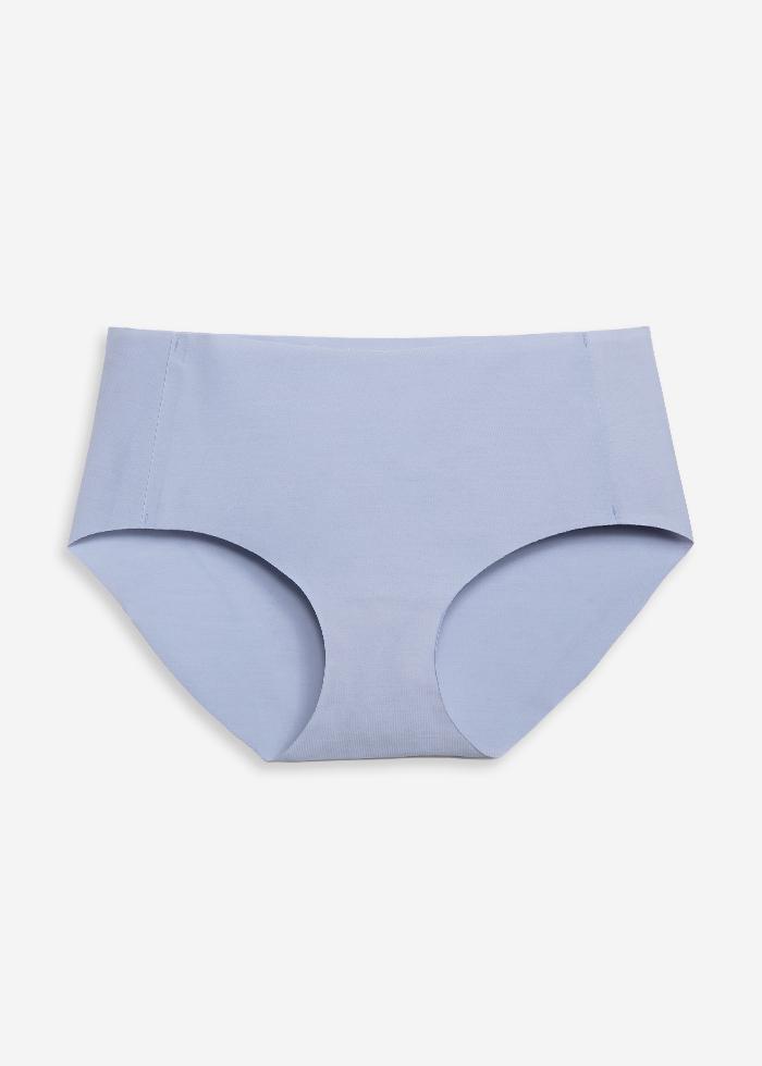 AIRY.無痕彈性中腰三角內褲(淺灰藍)