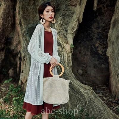 ふんわりロングカーディガンレディース春大きいサイズゆったり体型カバー夏UVカット人気wear.com
