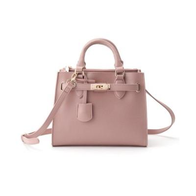 【クチュールブローチ】 2WAYスクエアバッグ レディース ピンク 00 Couture Brooch
