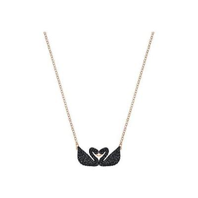 スワロフスキー Swarovski Iconic Swan Double Necklace ネックレス クリスタル 5296468 並行輸入