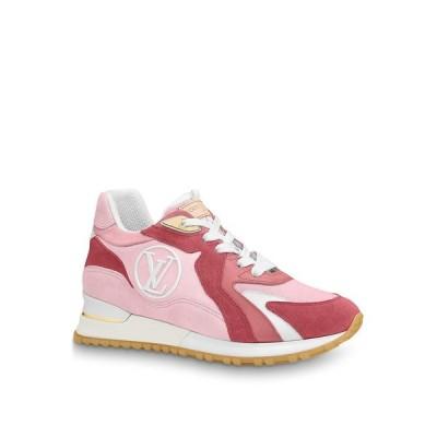 ルイヴィトン LOUIS VUITTON スニーカー シューズ 靴 ローズクレール ピンク ホワイト LV サークル