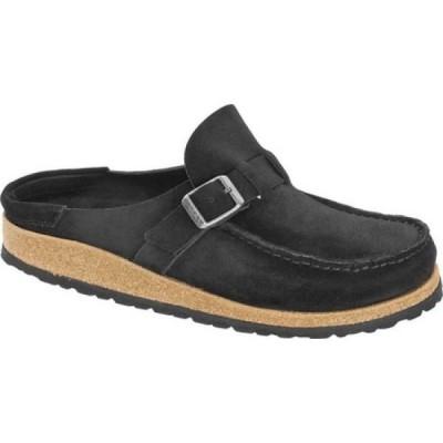 ビルケンシュトック Birkenstock レディース サンダル・ミュール シューズ・靴 Buckley Mule Black Suede