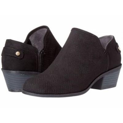 Dr. Scholls ドクターショール レディース 女性用 シューズ 靴 ブーツ アンクル ショートブーツ Bandit Black Microfiber【送料無料】