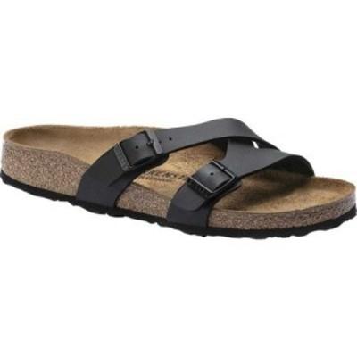 ビルケンシュトック Birkenstock レディース サンダル・ミュール シューズ・靴 Yao Birko-Flor Slide Black Birko/Flor