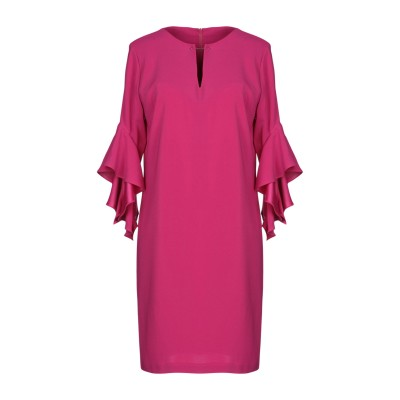HANITA ミニワンピース&ドレス フューシャ S ポリエステル 97% / ポリウレタン 3% ミニワンピース&ドレス