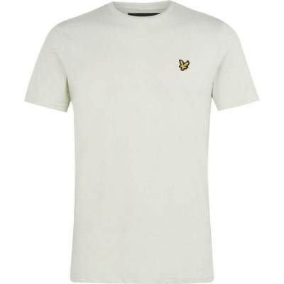 ライル アンド スコット Lyle and Scott メンズ Tシャツ ロゴTシャツ トップス Basic Logo T Shirt Cloud Mint Z