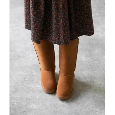 welleg from outletshoes / ふわふわ フェイク ファー 2way ロング ムートンブーツ WOMEN シューズ > ブーツ