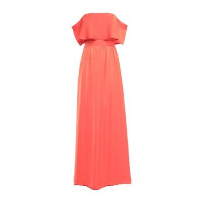 アンナリータ エンネ ANNARITA N ロングワンピース&ドレス オレンジ 40 ポリエステル 100% ロングワンピース&ドレス