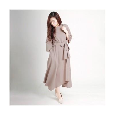 MARTHA(マーサ) ドッキングロングワンピース (ワンピース)Dress