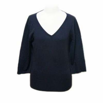 Rope' Picnic「38」Knit sweater with the belt (ロペピクニック ベルト付きニットセーター) 063727【中古】