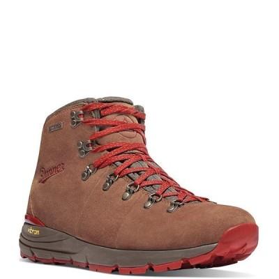 ダナー メンズ ブーツ&レインブーツ シューズ Men's Waterproof Suede Mountain 600 4.5#double; Boots Brown/Red