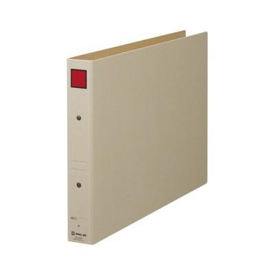 キングジム(4393E)保存ファイルB4ヨコ型 4393 赤(ファイル・ケース)(パンチ式ファイル)(パイプ式ファイル)