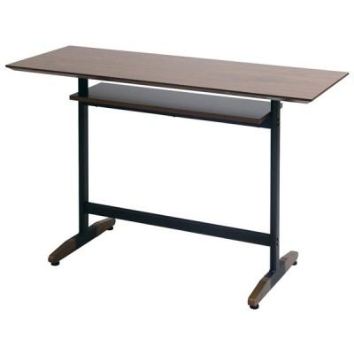 カウンターテーブル(KNT-128)ブラウン W1200×D45×H82 在庫無くなり次第販売終了【送料無料】