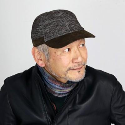 キャップ メンズ シンプルライフ 6方キャップ 秋冬 simple life 帽子 杢柄 普段使い 帽子 大きいサ
