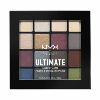 nyx professional makeup(ニックス プロフェッショナル メイクアップ) ut シャドウ パレット 01 01 カラースモーキー&ハイライト