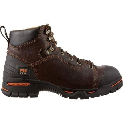 ティンバーランド Timberland メンズ ブーツ ワークブーツ シューズ・靴 PRO Endurance PR 6'' Steel Toe Work Boots Brown