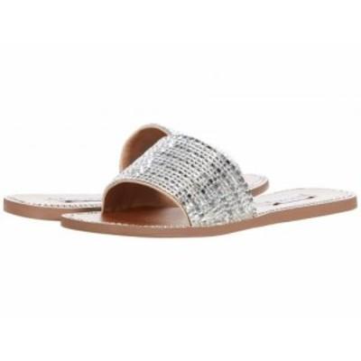Steve Madden スティーブマデン レディース 女性用 シューズ 靴 サンダル Nira Flat Sandal Rhinestone【送料無料】