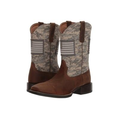 アリアト Ariat メンズ ブーツ シューズ・靴 Sport Patriot Distressed Brown/Sage Camo Print