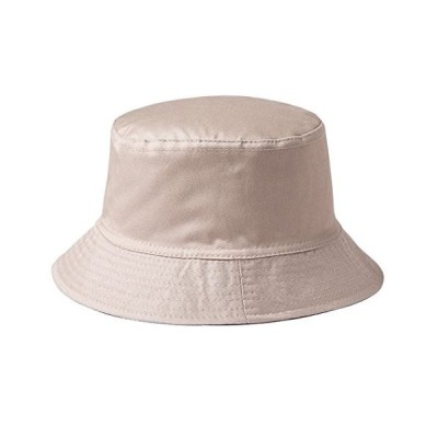 Vwill ハット メンズ レディース バケットハット 無地 帽子 クラシック UVカット 旅行 釣り レジャー 帽子 男女兼用 カーキ