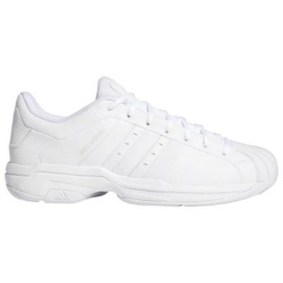 アディダス メンズ スニーカー シューズ adidas Pro Model 2G Low White/White/White
