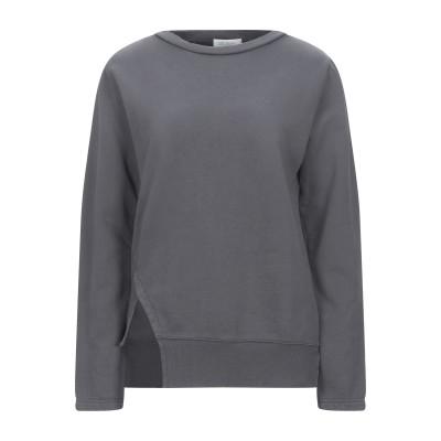 CROSSLEY スウェットシャツ 鉛色 XS コットン 100% スウェットシャツ