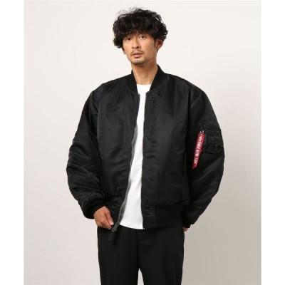 ジャケット MA-1 【ALPHA】 フォトプリントリバーシブルMA-1