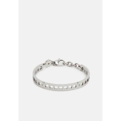 ディーゼル ブレスレット・バングル・アンクレット メンズ アクセサリー Bracelet - silver-coloured