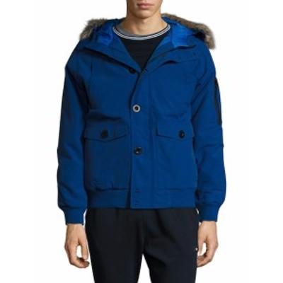 ウィーケンドオフライン Men Clothing Scope Puffer Jacket