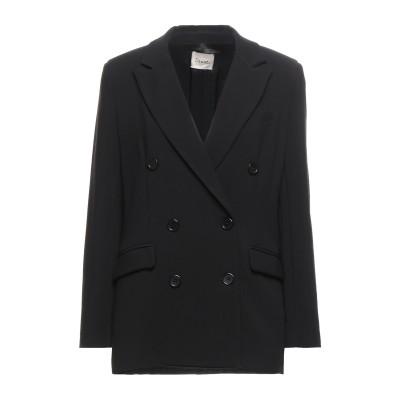 DIXIE テーラードジャケット ブラック M ポリエステル 63% / レーヨン 32% / ポリウレタン 5% テーラードジャケット