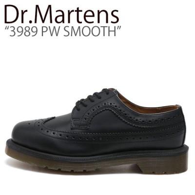ドクターマーチン スニーカー Dr.Martens メンズ レディース 3989 PW SMOOTH 3989 PW スムース BLACK ブラック 24340001 シューズ