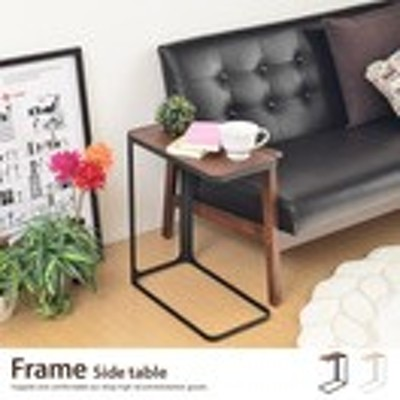【g31217】ソファサイドで活躍するサイドテーブル 木製 ナイトテーブル スリム ブラック ホワイト %OFF モダン 北