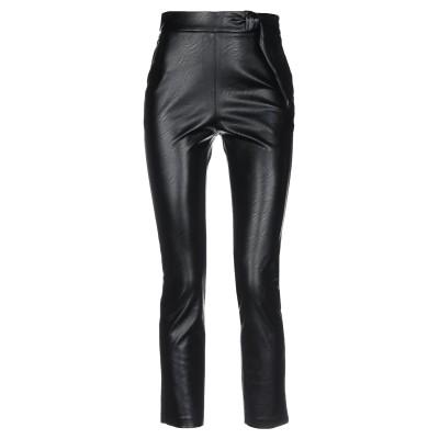 マニラ グレース MANILA GRACE パンツ ブラック 48 ポリエステル 100% / ポリウレタン パンツ
